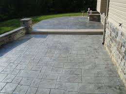 concrete for roads and patios
